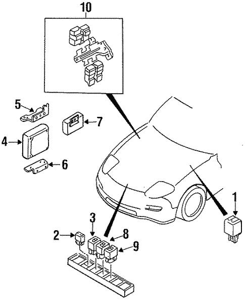 Powertrain Control For 1995 Mazda Rx 7