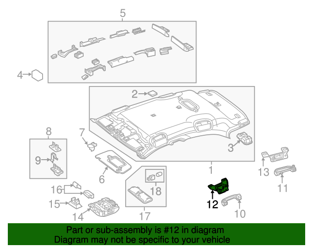 Grip handle front bracket mercedes benz 176 810 00 31 for Mercedes benz part numbers list
