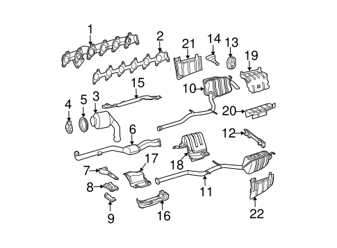 Exhaust Components for 2006 Mercedes-Benz E 320 #0