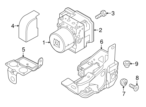 Abs Components For 2015 Ram Promaster City