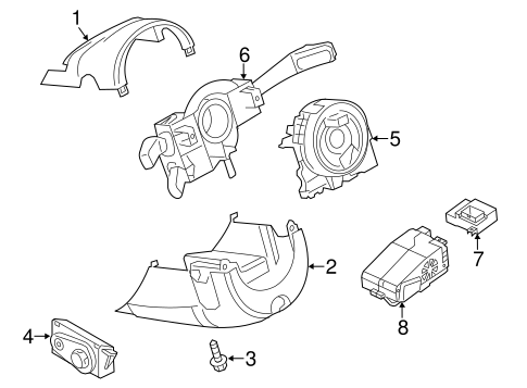 Anti Theft Components For 2015 Audi A6 Quattro