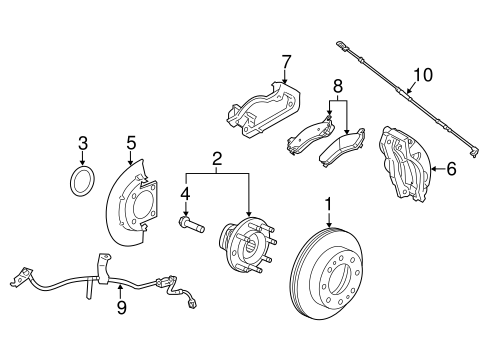 Front Brakes 2015 Gmc Sierra 3500 Hd Oem New Gm Parts