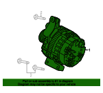 Alternator - Land-Rover (LR070719)