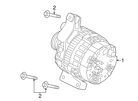 Alternator For 2017 Land Rover Discovery Sport