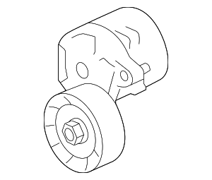 Accessory Drive Belt Tensioner Assembly - Subaru (23769AA040)