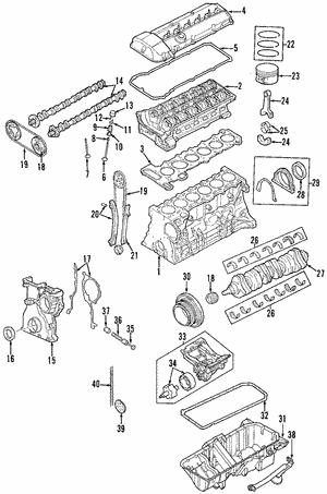 engine for 2006 bmw x3 original german parts. Black Bedroom Furniture Sets. Home Design Ideas