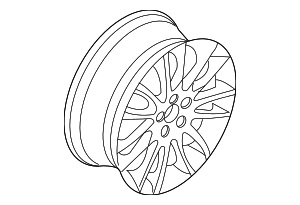 Wheel, Alloy - Volvo (31316813)