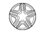 Wheel, Alloy - Mercedes-Benz (166-401-14-00-7X21)