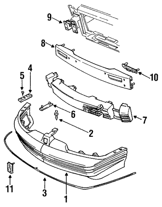 1992 1997 Oldsmobile Cutlass Supreme Emblem 12531673