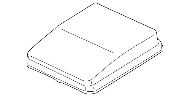 fuse box cover - mitsubishi (8565a269)