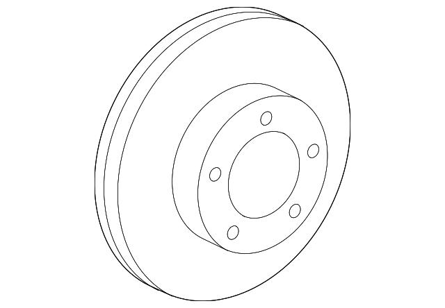 2007 2018 toyota rotor 43512 0c020 grahamtoyotaparts Toyota Caliper Covers rotor toyota 43512 0c020