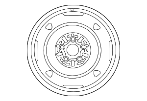 Wheel, Spare - Toyota (42611-47631)
