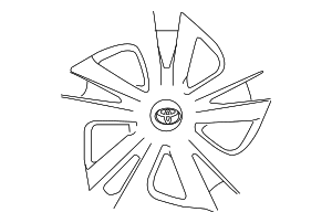 Cap Sub Assembly Wheel - Toyota (42602-47201)