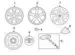 Wheel Cover - Toyota (42602-47240)