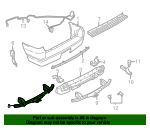 Trailer Hitch Bar Kit - Ford (7L2Z-19D520-A)