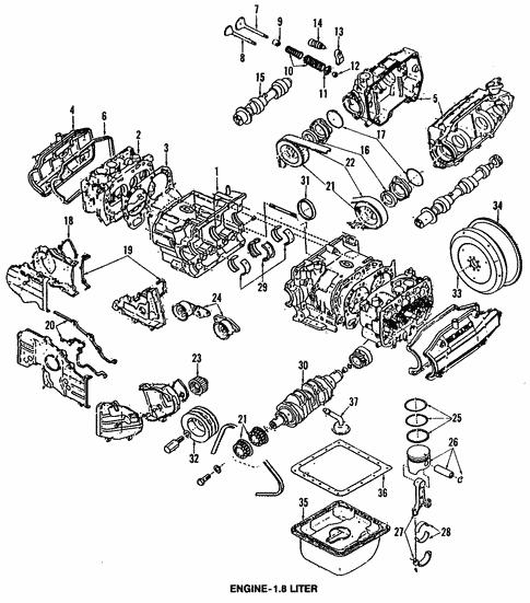 Oil Pump For 1992 Subaru Loyale