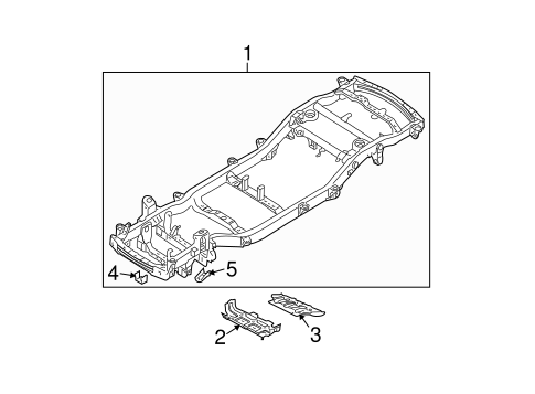 Frame Components For 2005 Kia Sorento Kia Parts Accessories