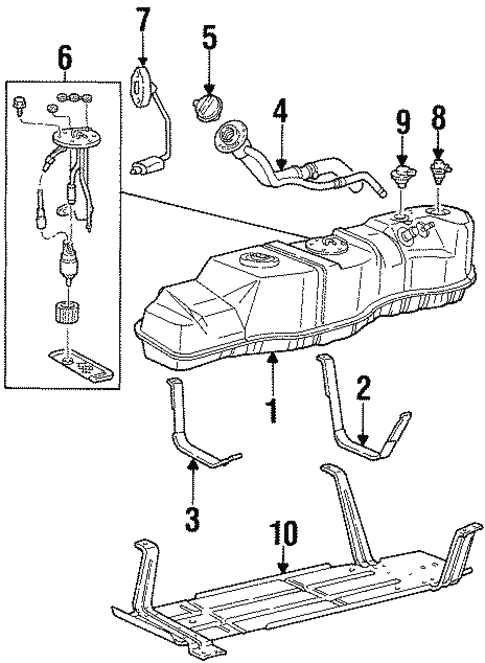 Fuel System Components For 1999 Lincoln Navigator