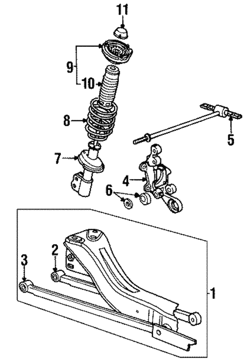 Saturn Sl1 Suspension Diagram