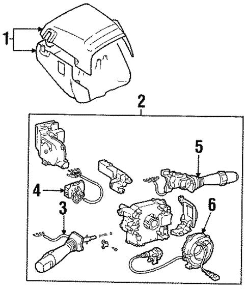 Switches For 1996 Lexus Sc300