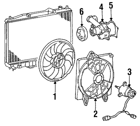 Water Pump[device=moves Liquid] Assembly