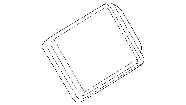 genuine saturn heater core 22728343