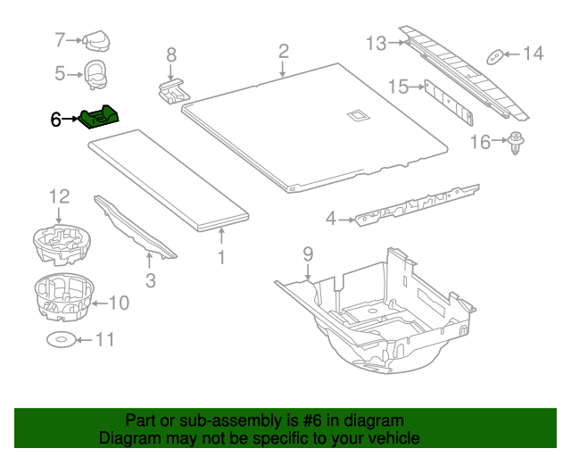 Tie down housing mercedes benz 212 868 00 48 8n84 for Mercedes benz part numbers list