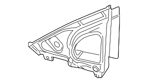Mirror Base Gasket - Mercedes-Benz (253-811-06-00)