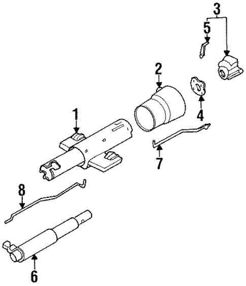 Housing Components For 1996 Pontiac Bonneville