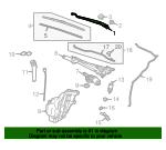 Windshield Wiper Arm - GM (13227399)