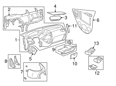 ford focus fuse box headlights with Instrument Panel Scat on 2011 Ford F550 Pto Wiring Diagram together with Chevy Truck Ke Light Wiring Diagram Automotive in addition 93 Ford Explorer Headlight Wiring Diagram together with 2004 Infiniti G35 Fuse Box Diagram as well Mitsubishi Galant Engine Diagram Coolant.