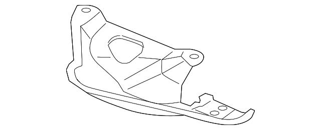 Mitsubishi Rear Oxygen Sensor Cover 1588a164