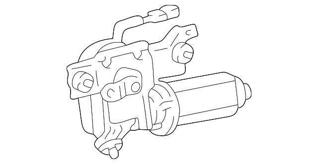wiper motor assembly