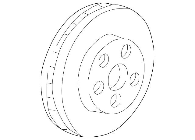 1997 2005 Gm Rotor 19202731