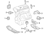 Trans Mount - Mercedes-Benz (210-240-06-18)
