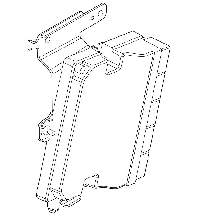 2016 Lincoln Mks Suspension: Control Module - Ford (DA5Z-3C142-A)