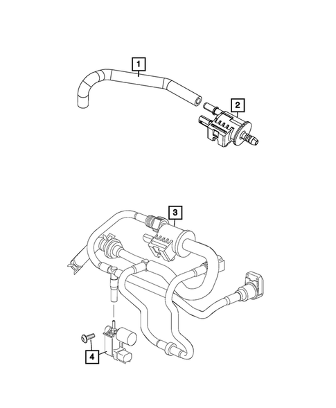 Emission Harness for 2015 Jeep Renegade #0