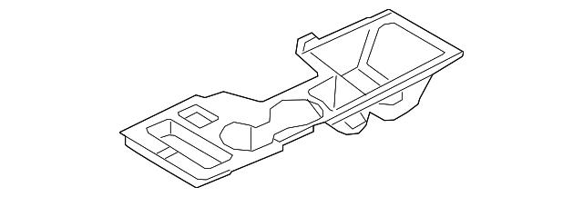 Upper Genuine Hyundai 84651-3Q000-4X Center Console Cover