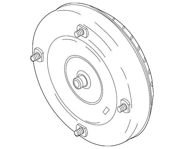 Genuine Ford Torque Converter 9l8z 7902 H