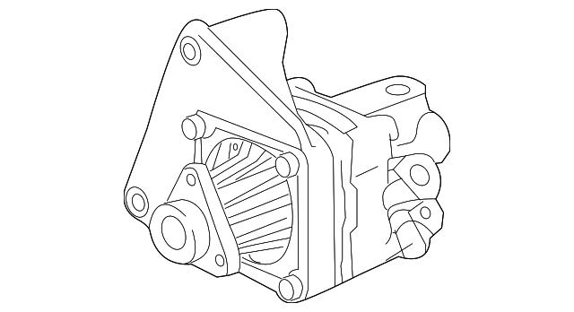1998 2006 Bmw Power Steering Pump 32 41 2 229 679