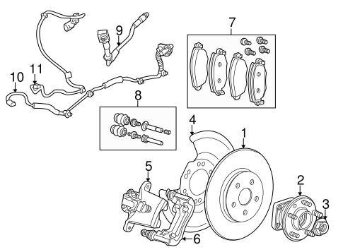 rear brakes for 2007 jaguar x-type #0