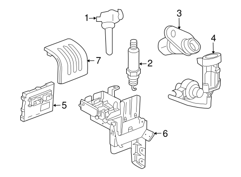 Oem 2010 Chevrolet Cobalt Ignition System Parts