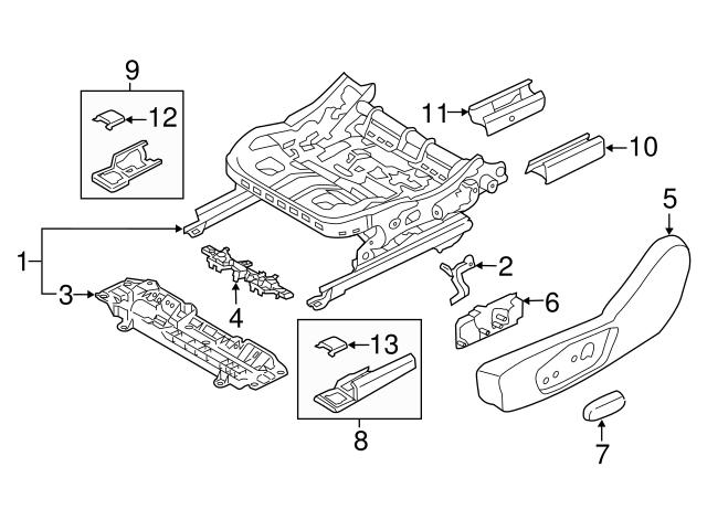2013 2019 Ford Switch Dg9z 14a701 Abk