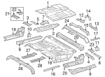 Seat Reinforced - Toyota (57845-0C030)