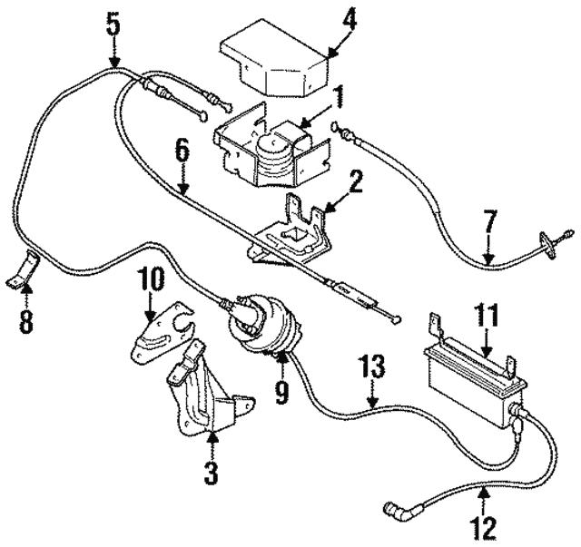 1995 2000 Mopar Vacuum Harness 4591290ab