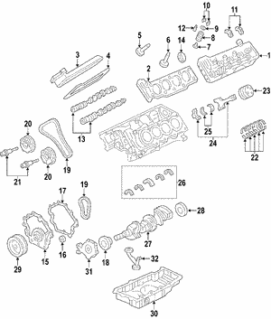 Genuine GM  4.6 Litre Engine |Part# - 19177068