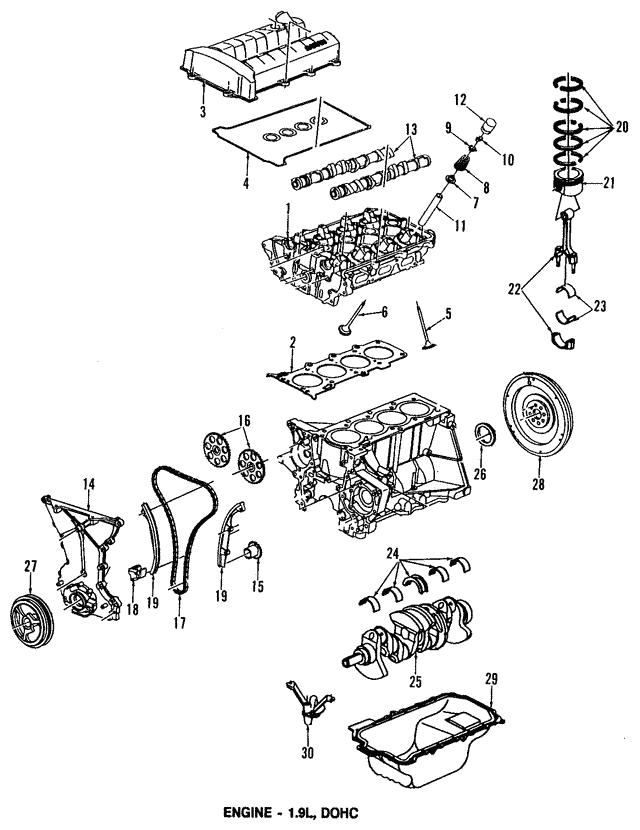 Head Gasket GM 21009431 GMpartsdirect. Head Gasket. Saturn. Saturn Sl2 Head Diagram At Scoala.co
