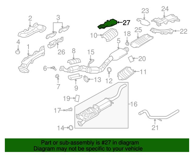 Pleasant Ford Explorer Mercury Mountaineer Exhaust Manifold Heat Shield Wiring 101 Photwellnesstrialsorg