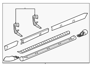 Step Bar Assembly - GM (25831391)