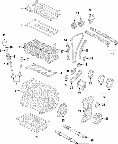 Engine for 2013 Land Rover Range Rover Evoque | Land Rover Merriam PartsLand Rover Merriam Parts